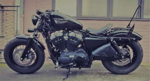 Sacoches Myleatherbikes Harley Sportster Forty Eight (47)